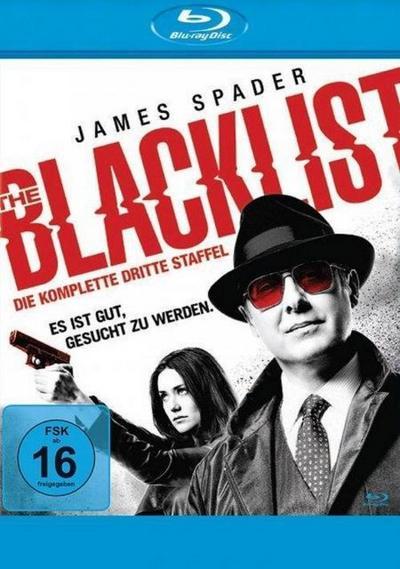 The Blacklist - Die komplette dritte Season Bluray Box