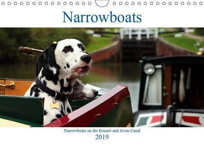 Narrowboats (Wall Calendar 2019 DIN A4 Landscape)