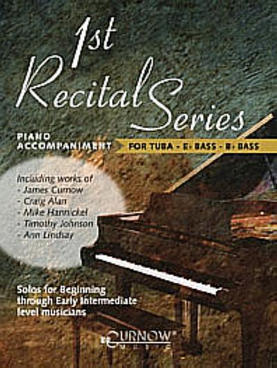 First Recital Series : Piano Accompaniment fortuba, bass in Es and bass in B