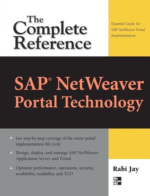 SAP NetWeaver Portal Technology, Rabi Jay