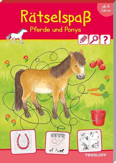 Rätselspaß Pferde & Ponys ab 6 Jahren