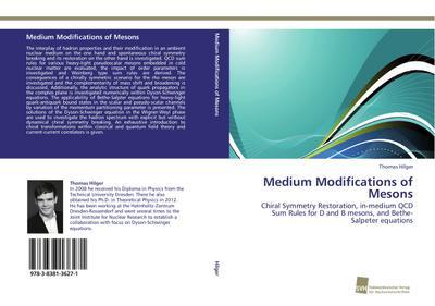 Medium Modifications of Mesons