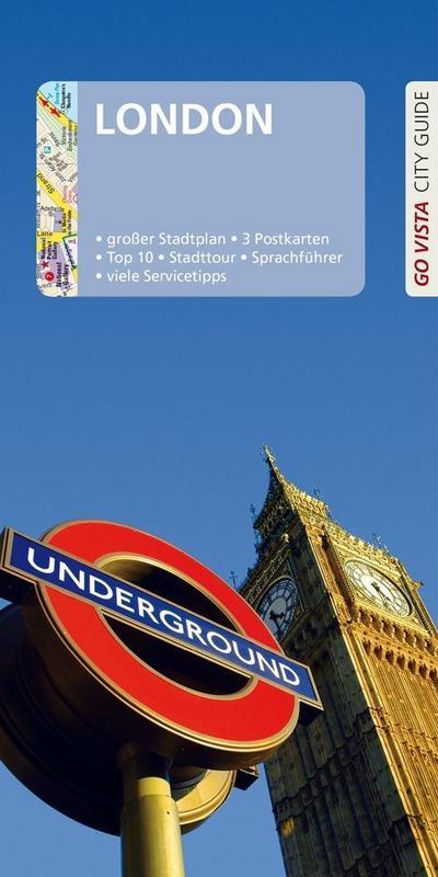 GO VISTA: Reiseführer London: Mit Faltkarte und 3 Postkarten