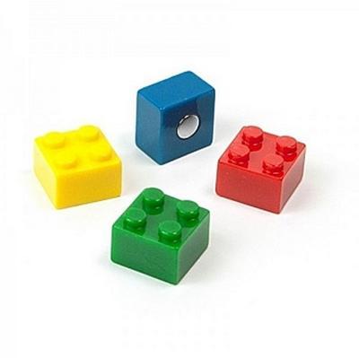 Magnete BRICK 4er Set assortiert