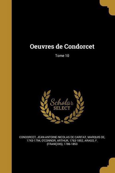FRE-OEUVRES DE CONDORCET TOME