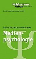 Medienpsychologie, Grundriss der Psychologie Bd. 27. Urban-Taschenbuch Nr. 726 (Urban-Taschenbücher)