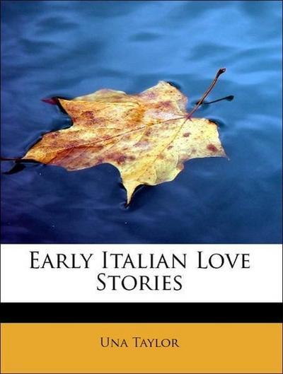 Early Italian Love Stories