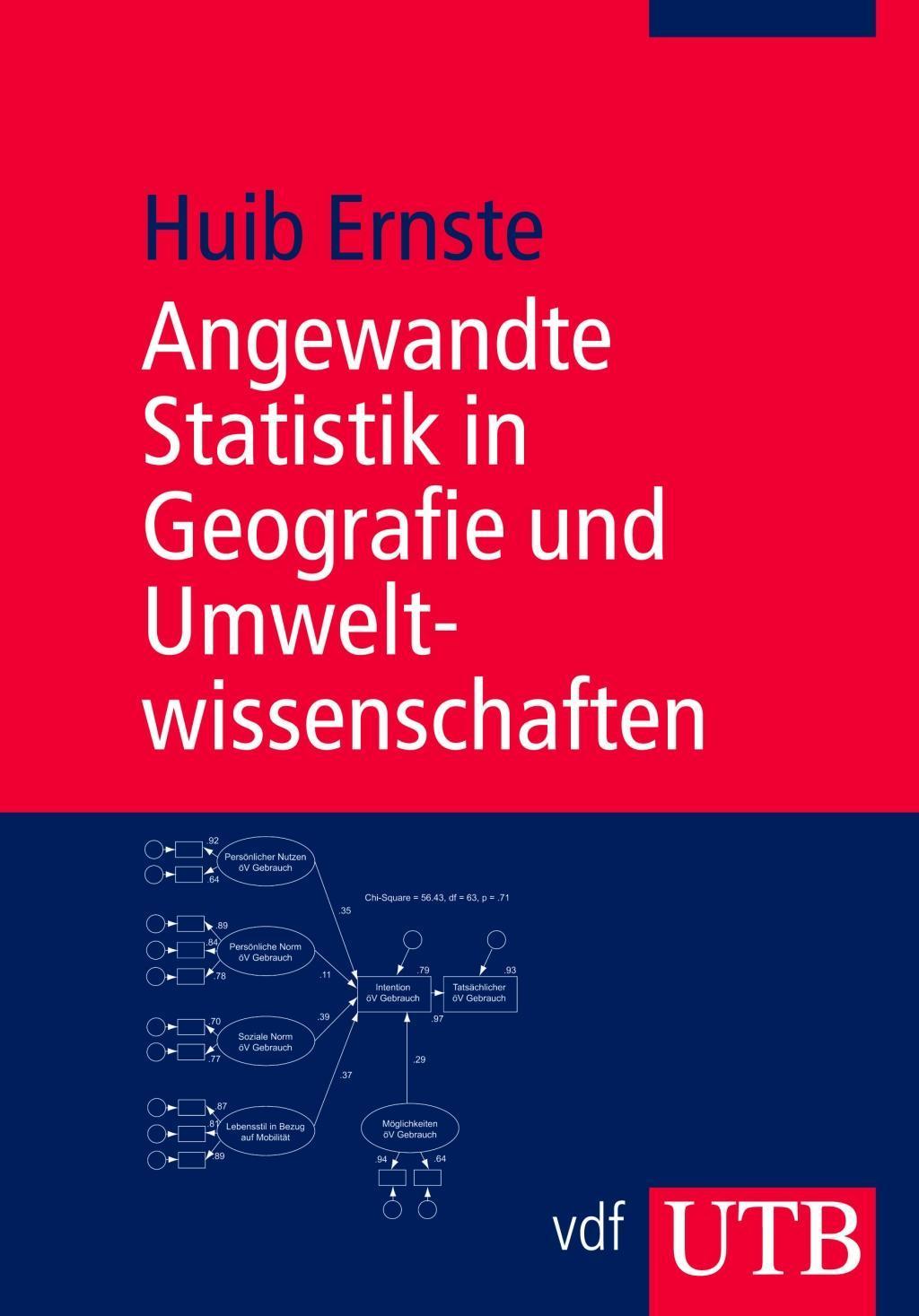 Huib Ernste Angewandte Statistik in Geografie und Umweltwissenschaften