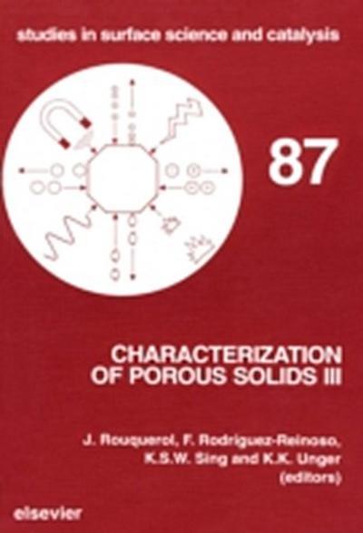Characterization of Porous Solids III