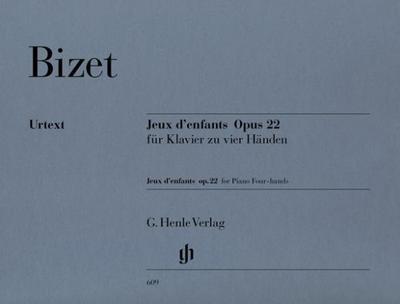 Jeux d'enfants op. 22 für Klavier zu vier Händen