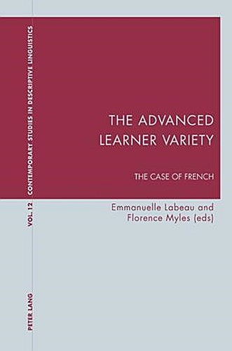 The Advanced Learner Variety Emmanuelle Labeau