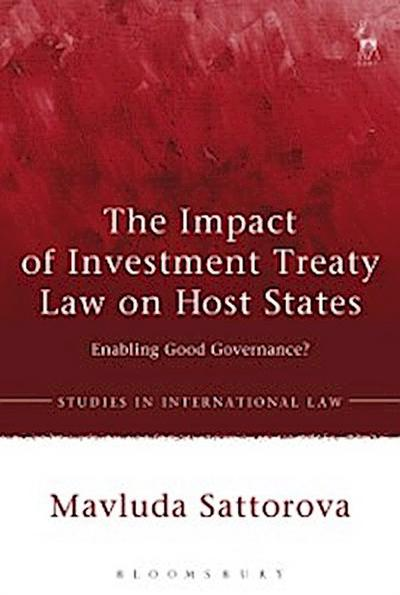 Impact of Investment Treaty Law on Host States