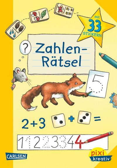 Pixi kreativ Nr. 83: VE 5 Zahlen-Rätsel