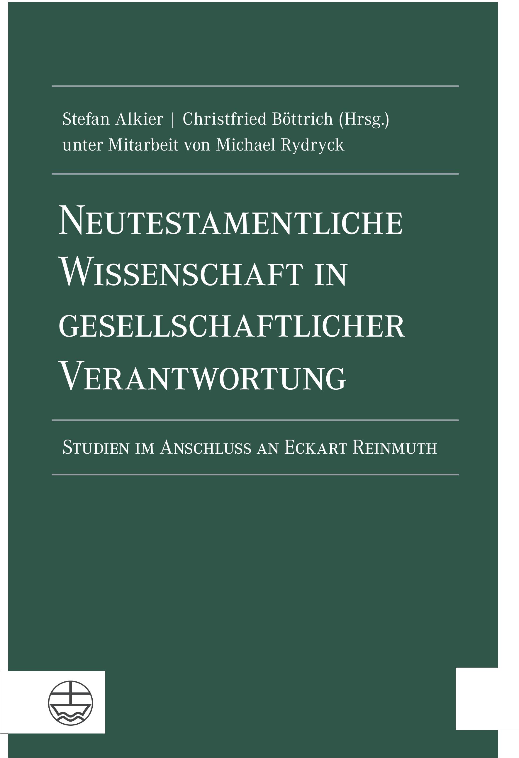 Neutestamentliche Wissenschaft in gesellschaftlicher Verantwortung Stefan A ...