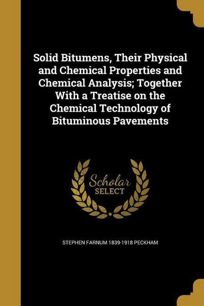 SOLID BITUMENS THEIR PHYSICAL