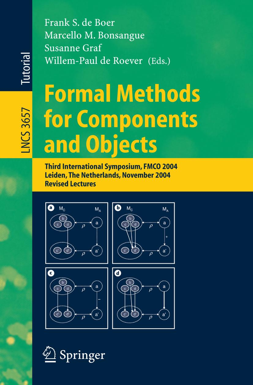 Formal Methods for Components and Objects 2004, Frank S. de Boer