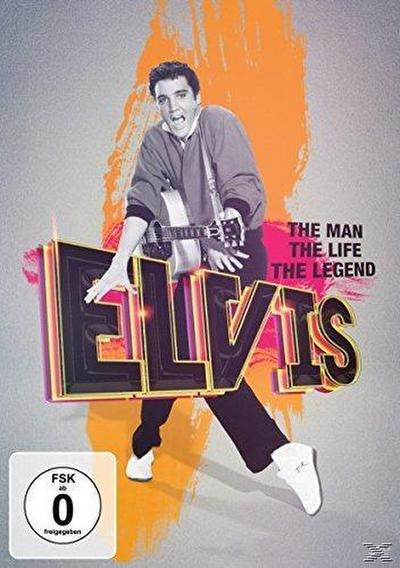 Elvis Presley - The Man, The Life, The Legend