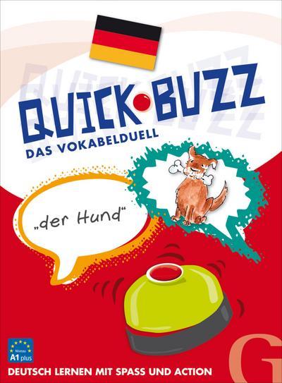 QUICK BUZZ – Das Vokabelduell - Deutsch: Sprachspiel