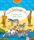 Klett Mein Lieblings-Block Rätseln mit wilden Tieren: Vorschule ab 5 Jahren. Das kannst du alleine!