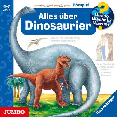 Alles über Dinosaurier, 1 Audio-CD.