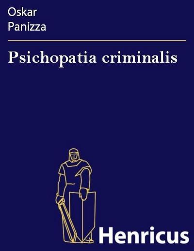 Psichopatia criminalis