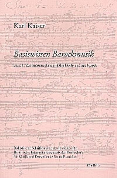 Basiswissen Barockmusik 01