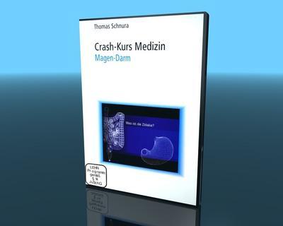 Crash-Kurs Medizin, Magen - Darm, 1 DVD