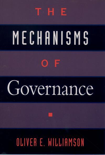 The Mechanisms of Governance