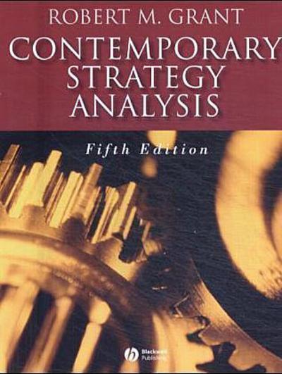 Contemporary Strategy Analysis - Blackwell Publishers - Taschenbuch, Englisch, Robert M. Grant, ,