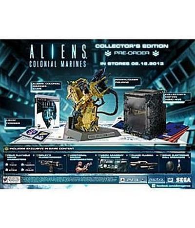 Aliens Colonial Marines Collectors Edition