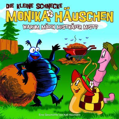 Die kleine Schnecke Monika Häuschen 06. Warum mögen Mistkäfer Mist?