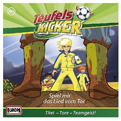 Die Teufelskicker - Spiel mir das Lied vom Tor!, 1 Audio-CD