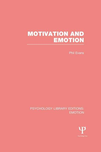 Motivation and Emotion (PLE: Emotion)