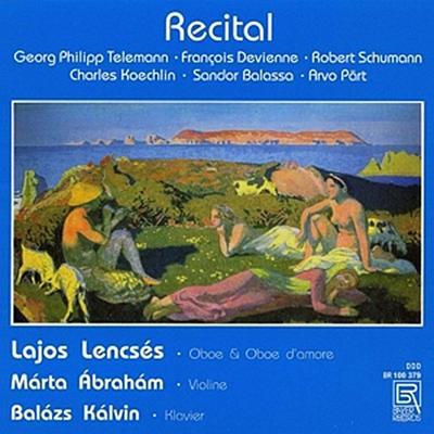 Recital-Werke für Oboe