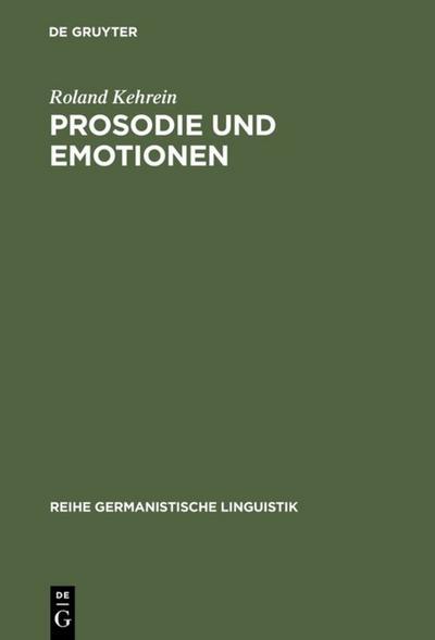 Prosodie und Emotionen