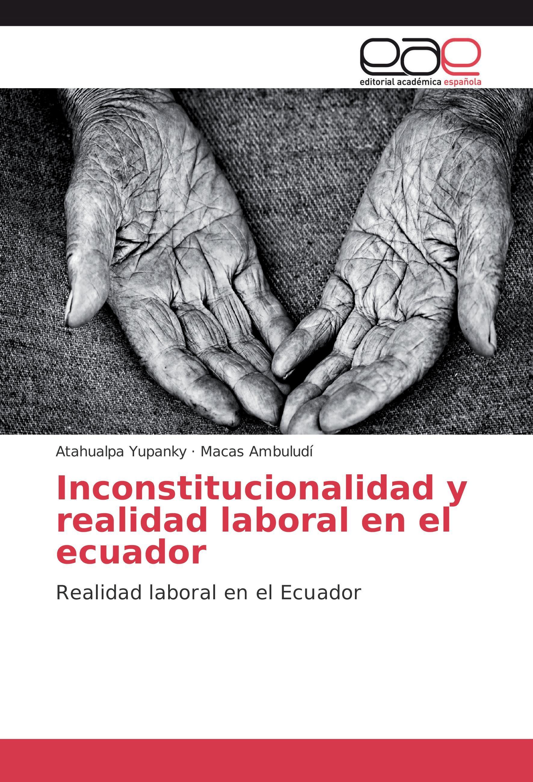 Inconstitucionalidad y realidad laboral en el ecuador - Atah ... 9783639782561