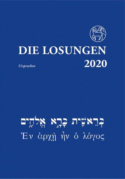 DIe Losungen in der Ursprache 2020