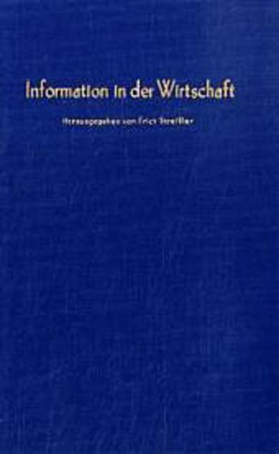 Information in der Wirtschaft.
