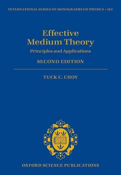 Effective Medium Theory: Principles and Applications