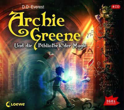 Archie Greene 01 und die Bibliothek der Magie