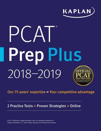 PCAT Prep Plus 2018-2019