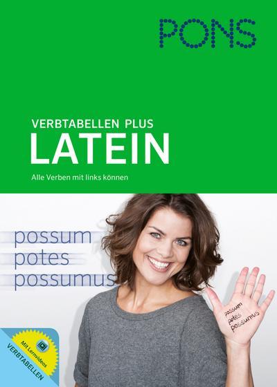 PONS Verbtabellen Plus Latein: Alle Verben mit links können. Mit Lernvideos.