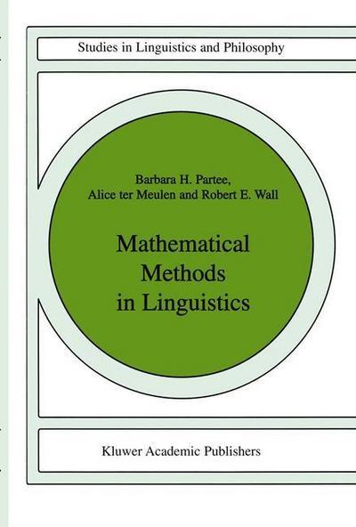 Mathematical Methods in Linguistics