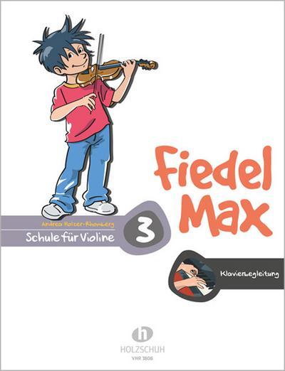 Fiedel-Max für Violine - Schule, Band 3. Klavierbegleitung