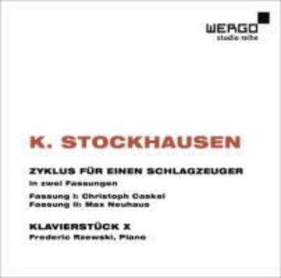 Zyklus Fur Einen Schlagzeuger/Klavierstuck X