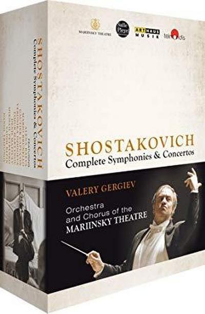Schostakowitsch: Sämtliche Sinfonien & Konzerte [8 DVDs]
