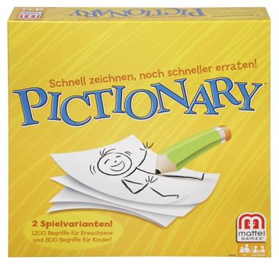Mattel Spiele DHH87 - Pictionary