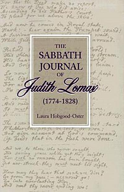 The Sabbath Journal of Judith Lomax
