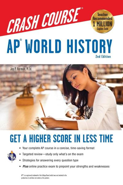 AP® World History Crash Course, 2nd Ed.,  Book + Online