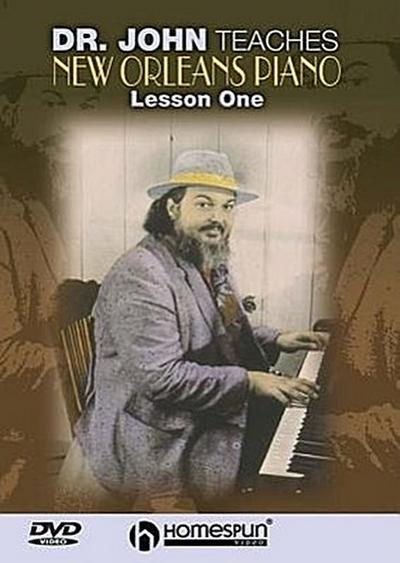 Dr. John Teaches New Orleans Piano, Lesson One